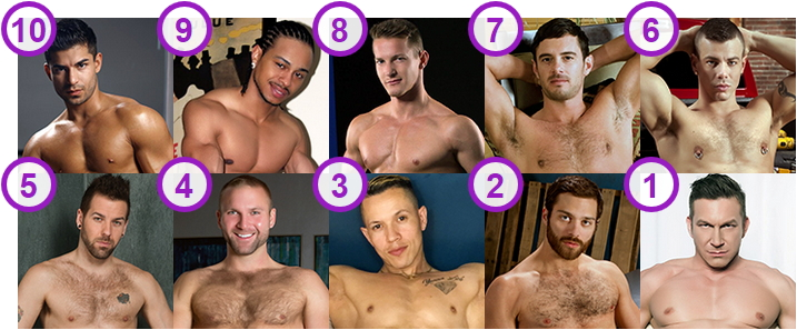 TOP 10 most Fittest Bodies gay porn-stars and cam boys